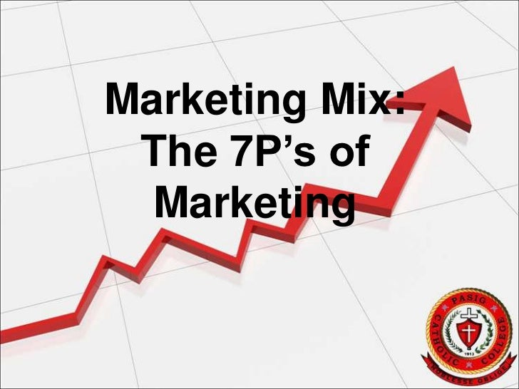 Marketing Mix: The 7P's of  Marketing