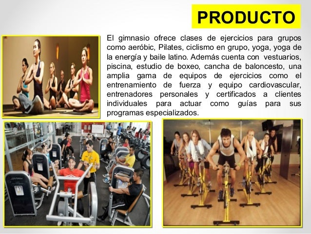 Marketing mix 7p 39 gold 39 s gym for Productos gimnasio