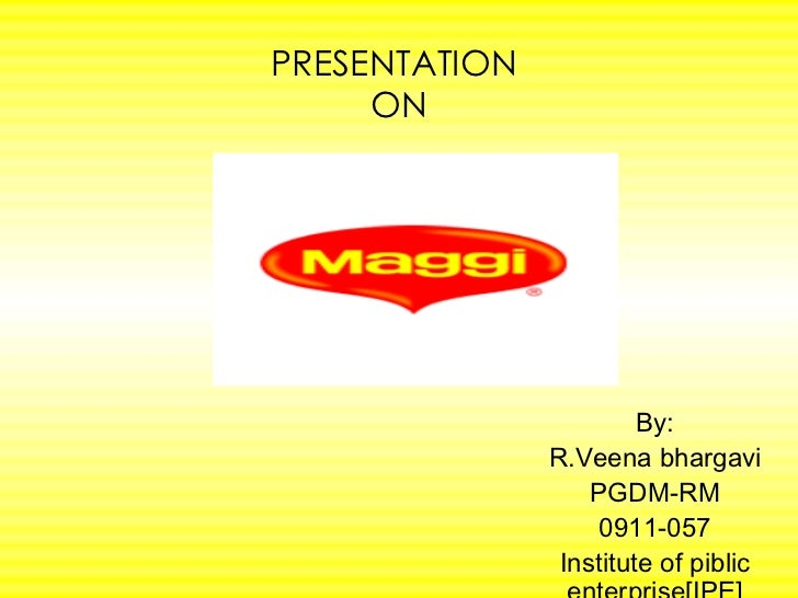 PRESENTATION  ON By: R.Veena bhargavi PGDM-RM 0911-057 Institute of piblic enterprise[IPE]