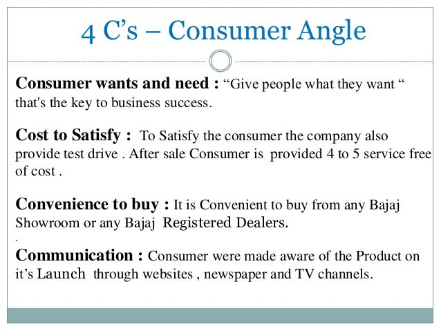 marketing mix of bajaj auto Marketing mix of bajaj auto analyses the brand/company which covers 4ps (product, price, place, promotion) bajaj auto marketing mix explains the business & marketing strategies of the brand.