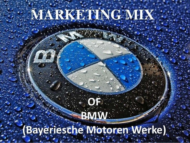 Marketing mix bmw for Mercedes benz marketing mix