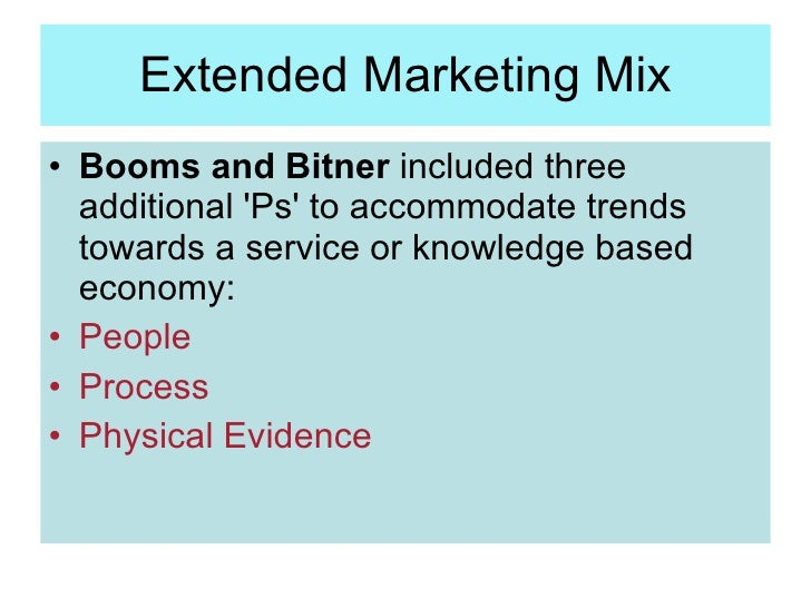 extended marketing mix Issn: 2306-9007 mucai, mbaeh & noor (2013) 691 extended marketing mix and customer's satisfaction in classified non-star hotels in meru municipality kenya.