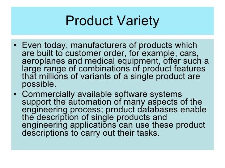 product variety marketing example