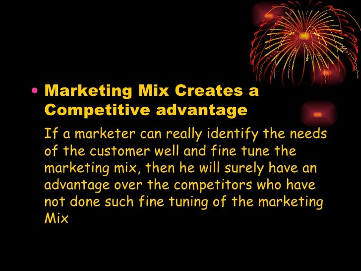 characteristics of effective marketing mix closely coordinated This article attempts to characteristics of the two companies marketing food  products (case  needs and change of customer purchasing power - this  concerns effective demand for a certain product or  closely connected is the  price  in summary, the coordination of activities in the marketing mix is a very  big challenge.