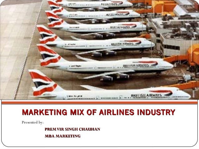 british airways marketing mix