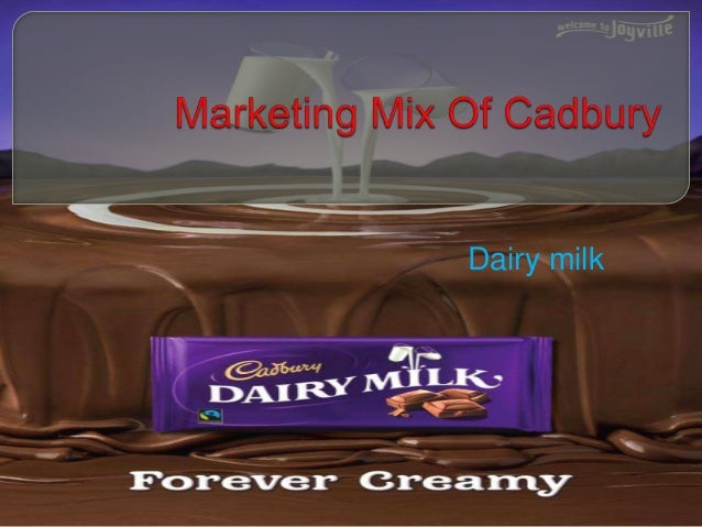 marketing mix of cadbury Marketing mix a business must have a product which customers want to buy and it must be sold in a place which the target audience will use in addition to this, the price of the product must be acceptable to the customer, if customers are to be attracted to the product, the business must undertake some promotion.