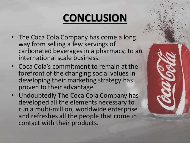 Strategic business plan for coca-cola company philippines