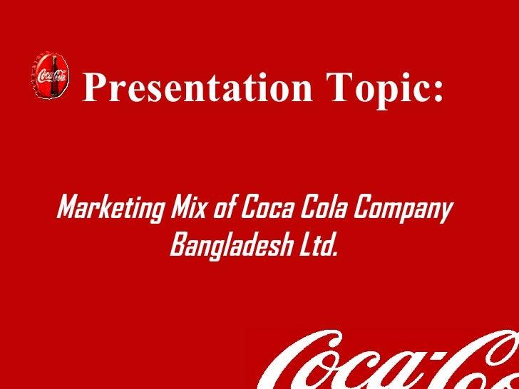 Coca cola 7ps of marketing