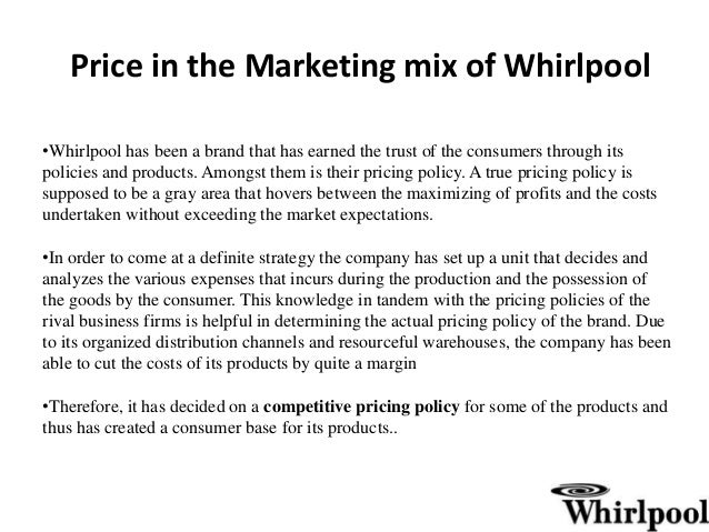 marketing and whirlpool Your online reputation matters more than ever we help you proactively build, promote, and manage your online reputation so you stand out in the marketplace.