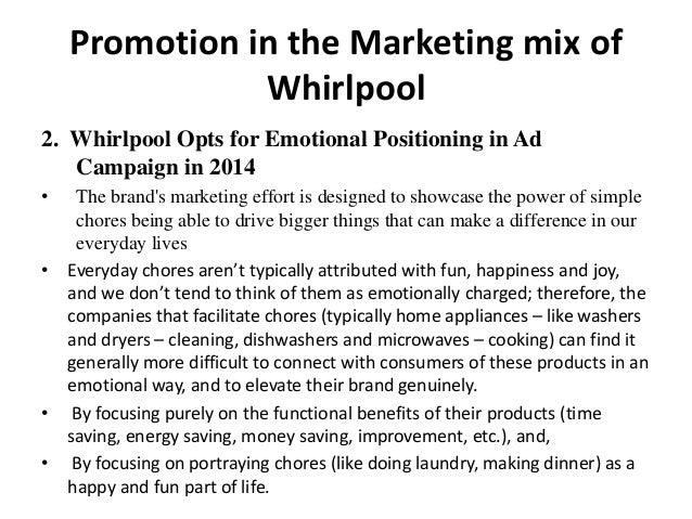 marketing and whirlpool Sandrine maguin (essca 2000) prend la direction du marketing et de la communication de whirlpool france.