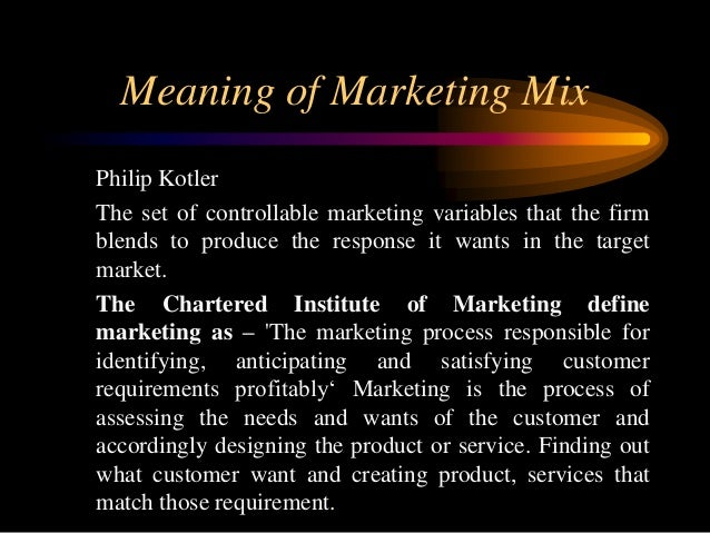 "product theory by philip kotler As philip kotler explains in his book marketing management, ""marketing is an administrative and social process through which individuals and groups obtain what they need and desire by the generation, offering and exchange of valuable products with their equals""."