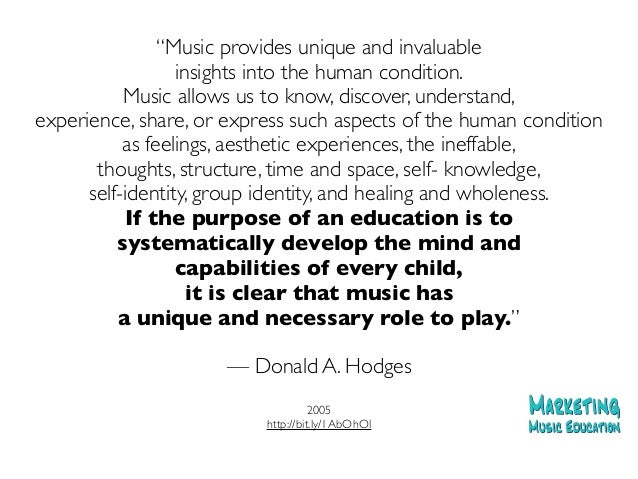 Music Education Quotes Extraordinary Marketing Music Education Recent Facts Quotes And Statistics That Y…