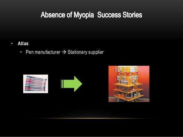 Myopia of learning essay