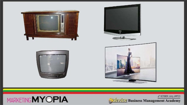 kodak marketing myopia Marketing myopia refers to the phenomenon of not being able to see the business in which the organisation operates rather than focuses just one one product.