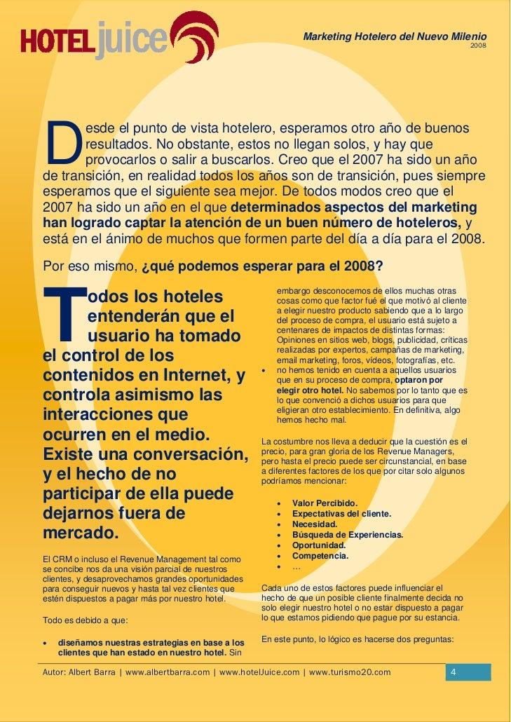 Marketing nuevo milenio for 4 milenio ultimo programa