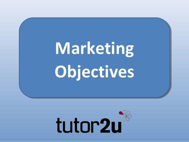 Marketing mix tutor2u