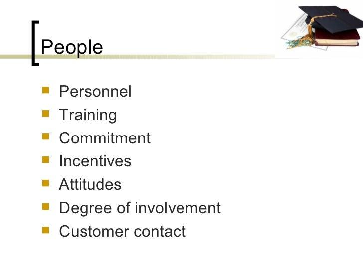 People <ul><li>Personnel </li></ul><ul><li>Training </li></ul><ul><li>Commitment </li></ul><ul><li>Incentives </li></ul><u...
