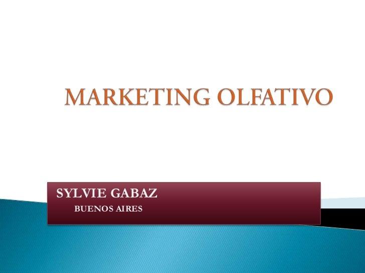 SYLVIE GABAZ  BUENOS AIRES