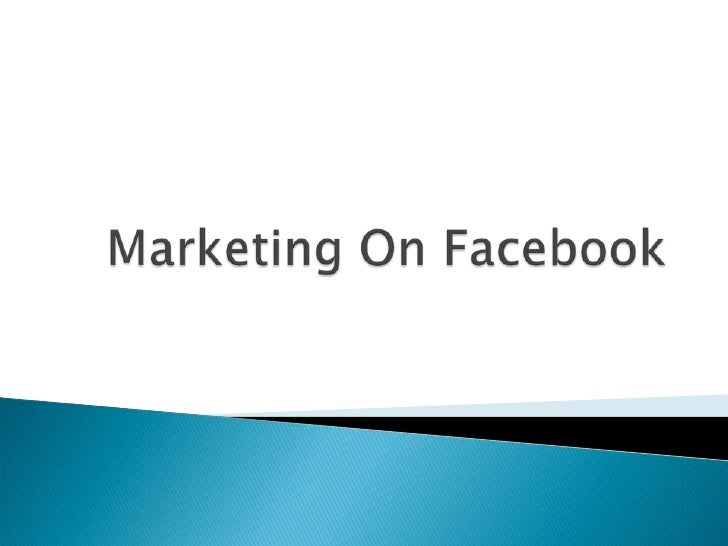    That's where the people are    Over 400 Million users    Average daily visit length of 55 minutes    Builds social ...