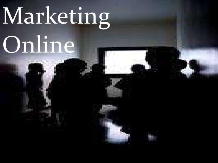 Marketing Online<br />