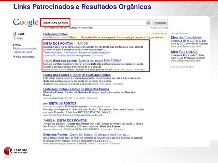 Links Patrocinados e Resultados Orgânicos                      SEO                                                Links   ...