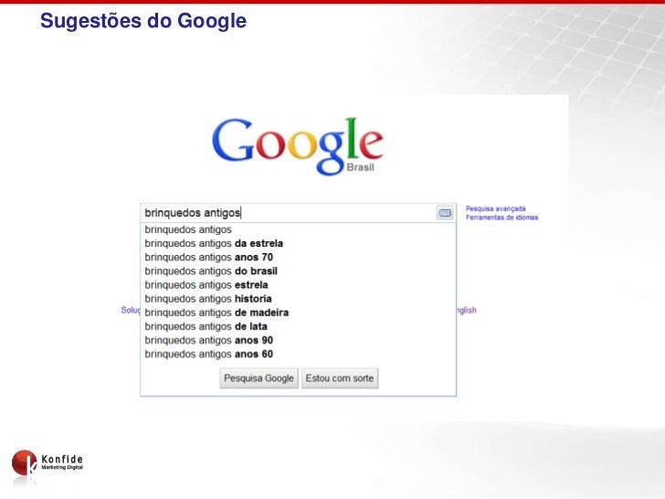 Sugestões do Google