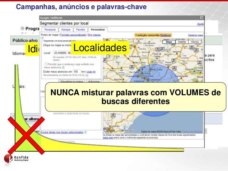 Campanhas, anúncios e palavras-chave                 Campanhas   Idiomas Localidades e Horários               Período     ...