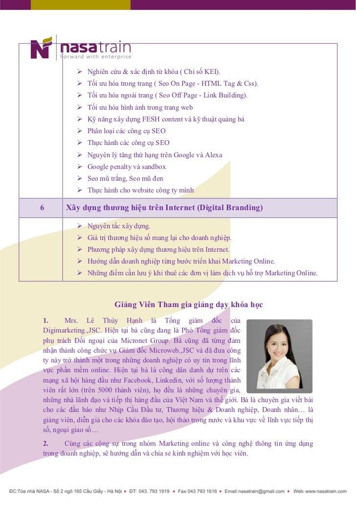 Marketing Online Workshop Slide 3