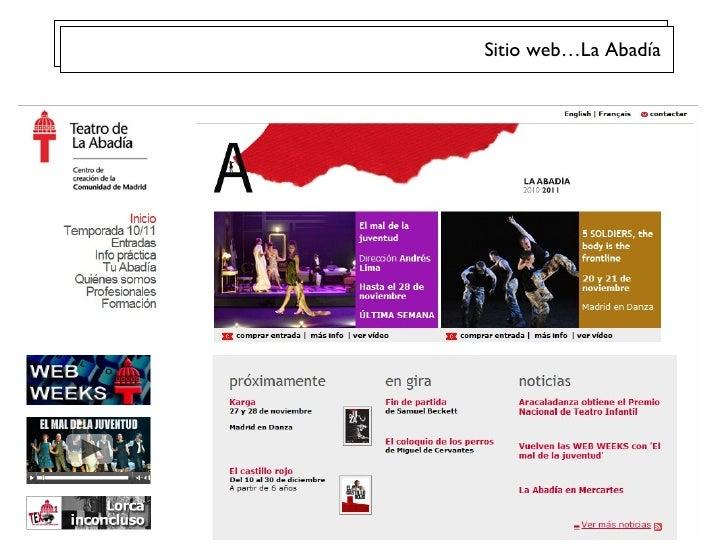 Sitio web…La Abad ía