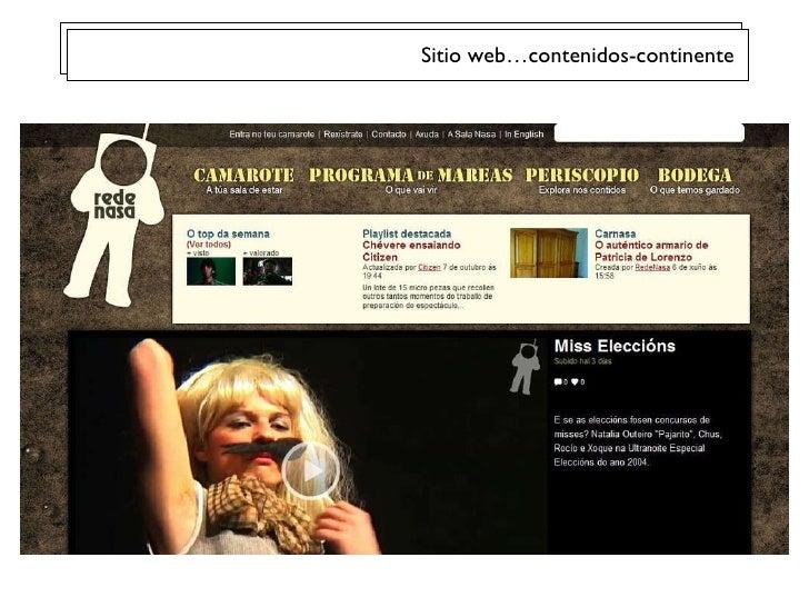 Sitio web…contenidos-continente