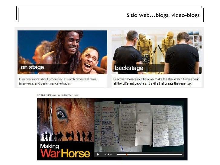 Sitio web…blogs, video-blogs