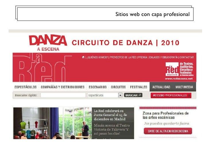Sitios web con capa profesional