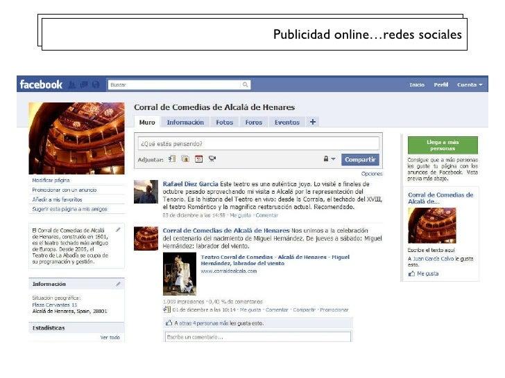 Publicidad online…redes sociales