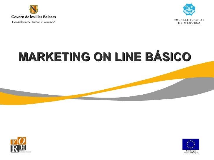 MARKETING ON LINE BÁSICO