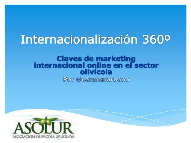 INTERNACIONALIZACIÓN INTERNETMARKETING 2