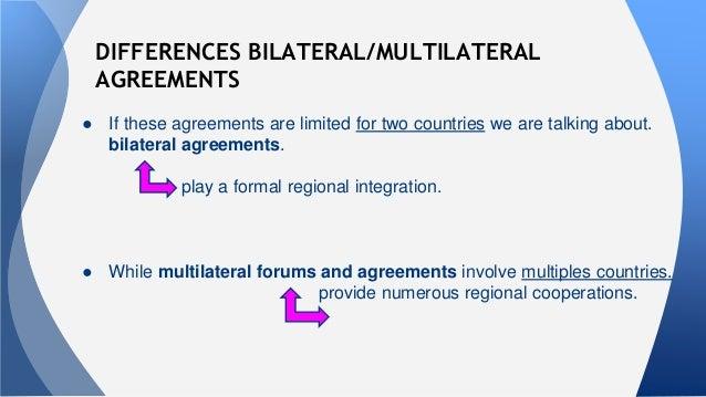 Marketing oralregional economic and politicalintegration 13 differences bilateralmultilateral agreements platinumwayz