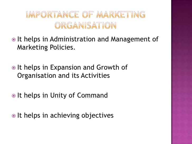 why is marketing important to an organization