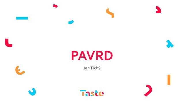 PAVRD JanTichý