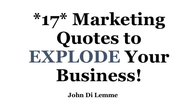 21 Quotes to Begin Your Presentation With a BANG!