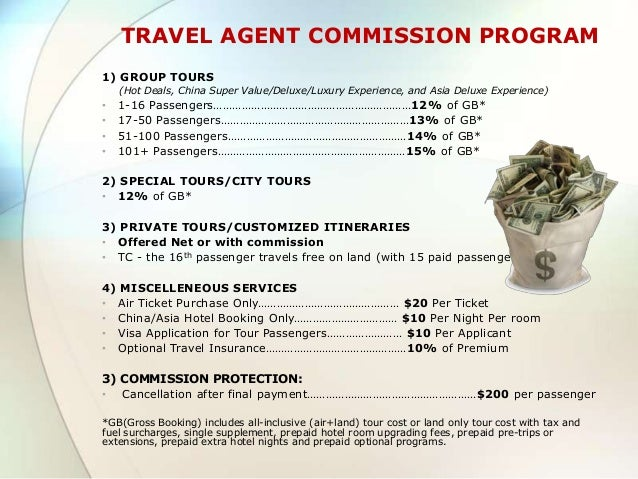 Travel Agent Commission Hotel Booking