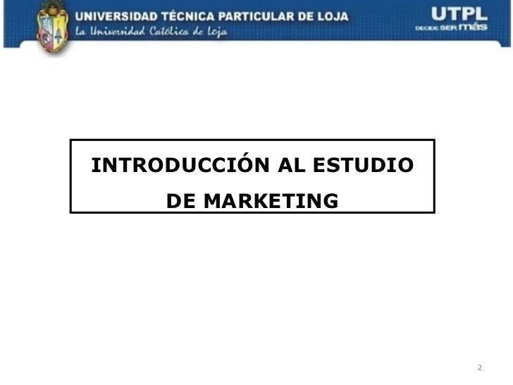MARKETING PARA LOS SERVICIOS DE SALUD Slide 2