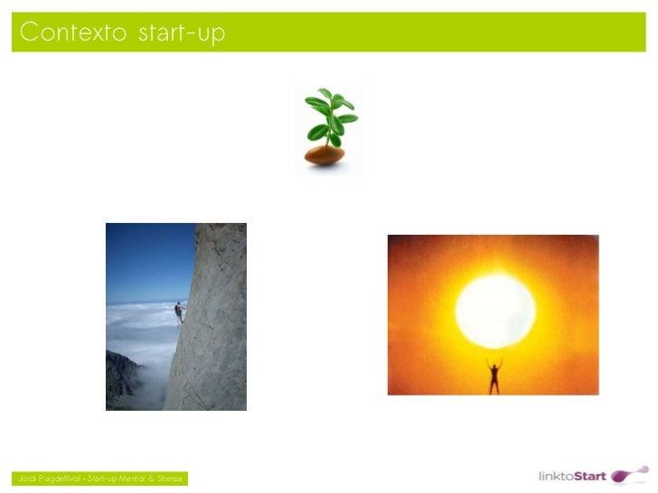 Contexto start-up                                               Jordi Puigdellívol – Start-up Mentor & Sherpa