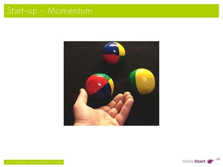 Start-up - Momentum                                               Jordi Puigdellívol – Start-up Mentor & Sherpa