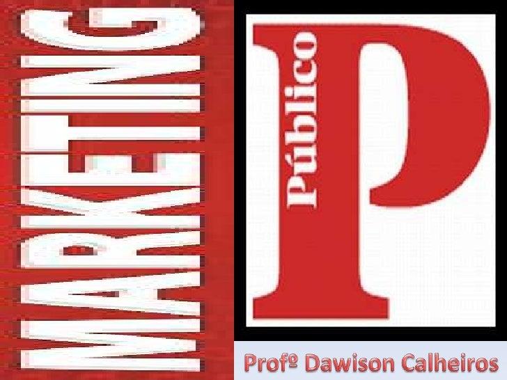 ProfºDawison Calheiros<br />
