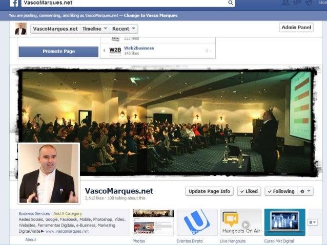 Vasco Marques | www.vascomarques.com | Marketing Pessoal e Networking