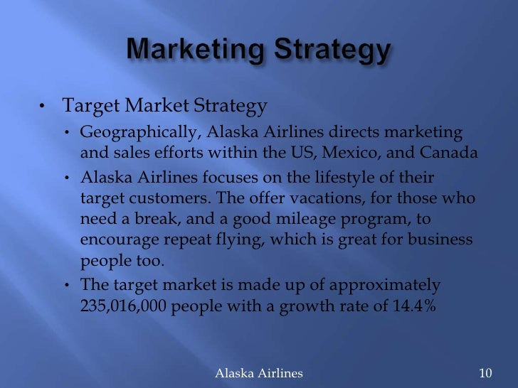 Marketing strategy of gmg airlines