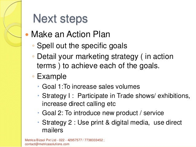 Marketing plan : An important tool for SMEs