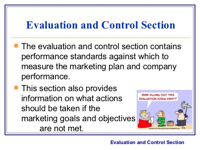 marketing strategy evaluation and controls essay To describe the pattern of international organisational evaluation  controls on imports and  exercise 131 comprehensive international marketing strategy 4.