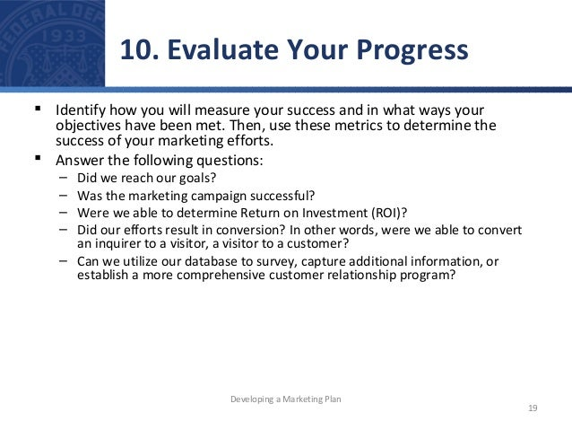 How to Measure a Project's Success