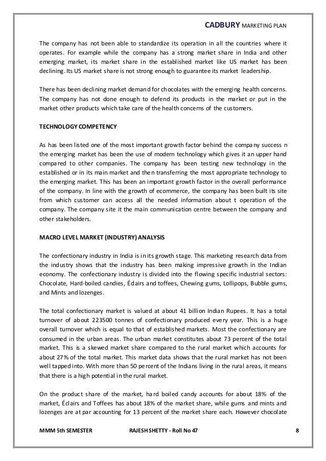cadbury marketing and advertising program essay